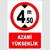 EF1349 - Azami Yükseklik 4.50 metre