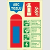EF2182 - Fosforlu ABC Tozlu Yangın Söndürücü