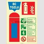 EF2183 - Fosforlu BC Tozlu Yangın Söndürücü