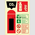 EF2185 - Fosforlu Karbondioksitli Yangın Söndürücü