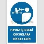 EF2266 - Havuz İçindeki Çocuklara Dikkat Edin