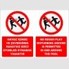 EF2291 - Türkçe İngilizce Havuz içinde ve çevresinde rahatsız edici oyunlar oynamak yasaktır