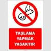 EF2351 - Taşlama yapmak yasaktır