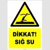 EF2356 - Dikkat! Sığ Su