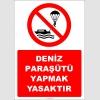 EF2408 - Deniz Paraşütü Yapmak Yasaktır