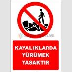 EF2415 - Kayalıklarda Yürümek Yasaktır