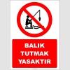 EF2422 - Balık Tutmak Yasaktır