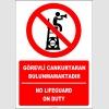 EF2430 - Türkçe İngilizce Görevli Cankurtaran Bulunmamaktadır, No Lifeguard on Duty