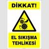 EF2444 - Dikkat! El Sıkışma Tehlikesi
