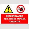 EF2457 - Şezlonglarda yer ayırımı yapmak yasaktır