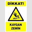 EF2504 - Dikkat! Kaygan Zemin
