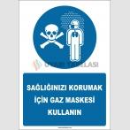 EF2582 - Sağlığınızı Korumak İçin Gaz Maskesi Kullanın