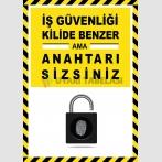 EF2588 - İş Güvenliği Kilide Benzer Ama Anahtarı Sizsiniz