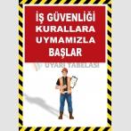 EF2598 - İş Güvenliği Kurallara Uymamızla Başlar