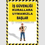 EF2599 - İş Güvenliği Kurallara Uymamızla Başlar