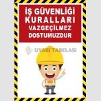 EF2600 - İş Güvenliği Kuralları Vazgeçilmez Dostumuzdur