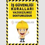 EF2601 - İş Güvenliği Kuralları Vazgeçilmez Dostumuzdur