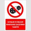 EF2658 - Kayışları ve Dişlileri Muhafazasız Çalıştırmak Yasaktır