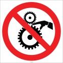 EF2661 - Dönen Parçalara Elini Yaklaştırma İşareti/Levhası/Etiketi