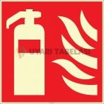 EF2672 - Fosforlu Yangın Söndürücü İşareti Levhası/Etiketi
