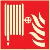 EF2673 - Fosforlu Yangın Hortumu/Dolabı İşareti Levhası/Etiketi