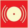 EF2677 - Fosforlu Yangın Alarmı İşareti Levhası/Etiketi