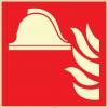 EF2679 - Fosforlu Yangınla Mücadele Ekipmanları İşareti Levhası/Etiketi