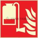 EF2682 - Fosforlu Mobil Köpük Ünitesi İşareti Levhası/Etiketi