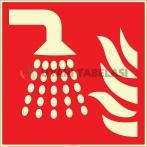 EF2684 - Fosforlu Su Sisi Aplikatörü İşareti Levhası/Etiketi