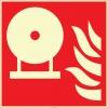 EF2688 - Fosforlu Sabit Yangın Söndürme Tankı İşareti Levhası/Etiketi