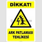 EF2697 - Dikkat! Ark Patlaması Tehlikesi