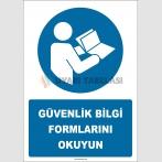EF2703 - Güvenlik Bilgi Formlarını Okuyun