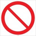 EF2704 - Genel Yasak İşareti/Levhası/Etiketi