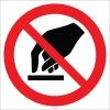 EF2709 - Dokunmak Yasaktır İşareti/Levhası/Etiketi