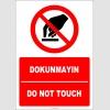 EF2712 - Türkçe İngilizce Dokunmayın, Do Not Touch