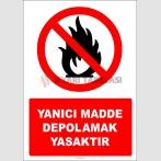 EF2727 - Yanıcı madde depolamak yasaktır