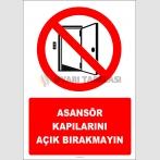 EF2747 - Asansör Kapılarını Açık Bırakmayın