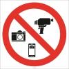EF2751 - Fotoğraf ve Video Çekmek Yasaktır İşareti