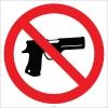 EF2761 - Silahla Girmek Yasaktır İşareti
