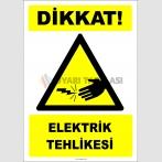 EF2775 - Dikkat! Elektrik Tehlikesi