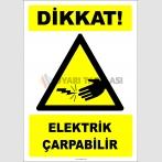 EF2776 - Dikkat! Elektrik Çarpabilir