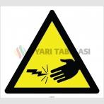EF2777 - Dikkat Elektrik Çarpma Tehlikesi İşareti
