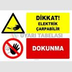 EF2778 - Dikkat! Elektrik Çarpabilir, Dokunma