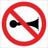EF2792 - Klakson Çalmak Yasaktır işareti