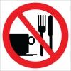 EF2804 - Yemek ve İçmek Yasaktır İşareti