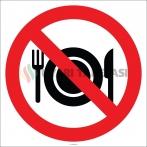 EF2806 - Yemek Yasaktır İşareti
