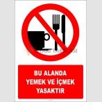 EF2808 - Bu Alanda Yemek ve İçmek Yasaktır
