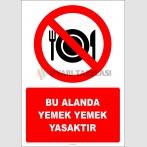 EF2809 - Bu Alanda Yemek Yemek Yasaktır
