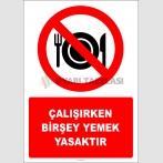 EF2810 - Çalışırken Birşey Yemek Yasaktır