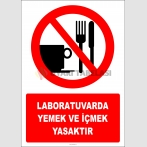 EF2812 - Laboratuvarda Yemek ve İçmek Yasaktır